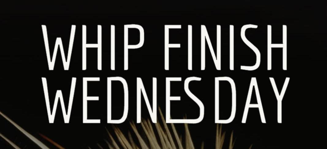 Whip Finish Wednesday